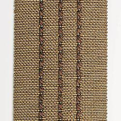 Ribbon Banding in 16582 Rib Stripes Bronze