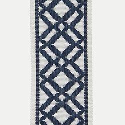 Ribbon Banding in 17405 Fretwork Tape/Indigo